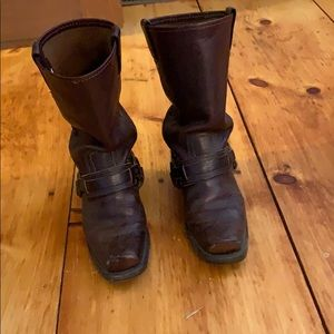 Harness Frye Boots